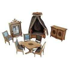 Antique Miniature French Salon Furniture