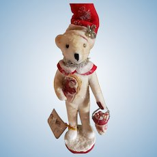 Artist  Christmas  Bear by Vickie Smyers