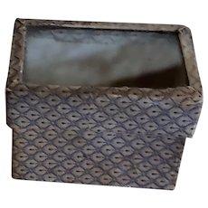 Tiny Glass Lidded Box for Doll Treasures