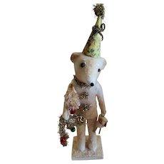 Artist Christmas Bear by Vickie Smyers