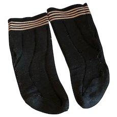 Large Black Stockings
