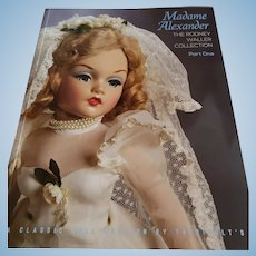 "Theriault's Auction catalogue""Madame Alexander The Rodney Waller Collection"" Part 1"