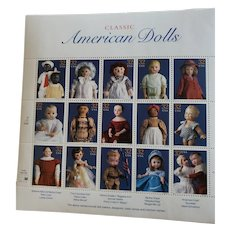 """Collectible Stamps """"Classic American Dolls"""""""