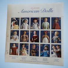"Collectible Stamps ""Classic American Dolls"""