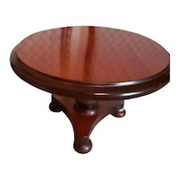 """4 1/2"""" High English Doll Size Table"""