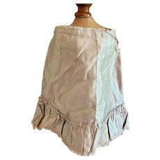 Pale Green Silk Fashion Skirt