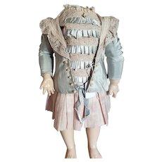 "Artist Made 11"" Antique Style Dress"