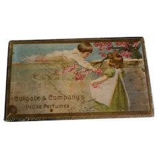 Box with Doll Size Colgate Toiletries