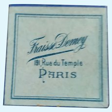 Tiny Paris Store Box