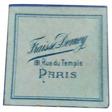 Tiny Paris Store Box