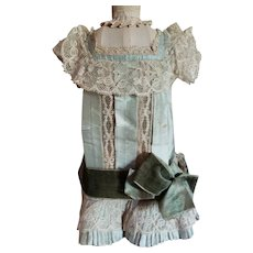 """12"""" Silk and Lace Dress (as is condition)"""