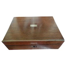 Small Wooden Sewing Box