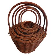5 Smaller and Smaller Nesting Baskets