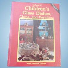 Children's Glass Dishes, China and Furniture