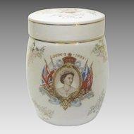 1953 Queen Elizabeth II Coronation Jar