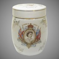 1953 Queen Elizabeth II Coronation Jar