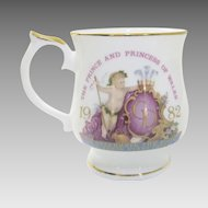 1982 Mug Celebrating the birth of Prince William