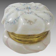 Wavecrest Vintage Hand Enameled Dressing Jar