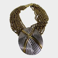Jay Feinberg Runway Mixed Metal Necklace