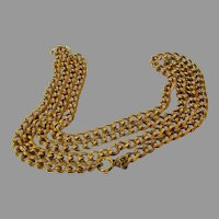 William De Lillo Goldtone Chain