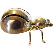 Sterling Silver Mexican Dimensional Bug Pin