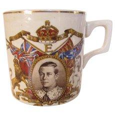 King Edward VIII Commemorative Mug Dated 1937