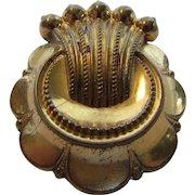 Edwardian Gold Filled Pin With Original C Clasp