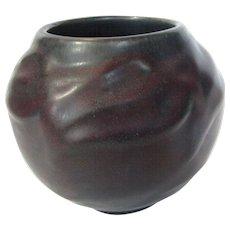 Van Briggle Early Maroon Vase