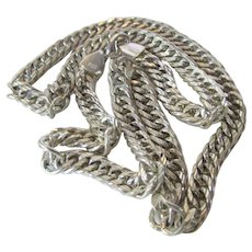 Sterling Silver Bold Chain Necklace