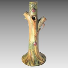 Weller Woodcraft 1920-1933 Vase in Tree Trunk Form