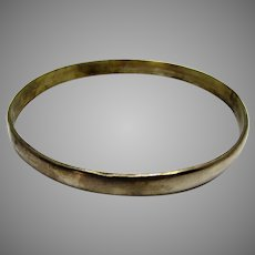 Sterling Silver Mexican Bangle