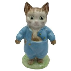 Beswick Beatrix Potter Tom Kitten Figurine