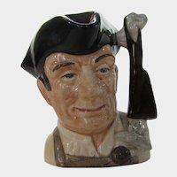 "Royal Doulton ""The Gunsmith from The Williamsburg Collection"" Character Toby Mug"