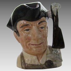"Royal Doulton ""The Gunsmith from The Williamsburg Collection"" Character Toby Mug"