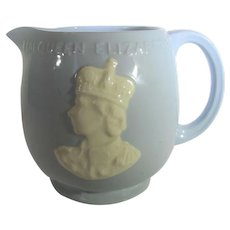 Queen Elizabeth II Coronation Mug in Blue by Johnson Brothers Rosedown