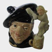 Royal Doulton  Tam O'Shanter Character Toby Mug D6636