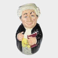 Doultonville Mr. Litigate The Lawyer Royal Doulton Toby Jug