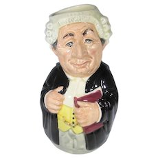 Doultonville Mr. Litigate The Lawyer Royal Doulton Toby Jug