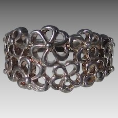 Classic Braided Sterling Silver Band