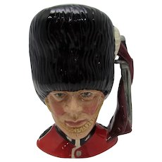 Royal Doulton The Guardsman Small Character Jug D-6771