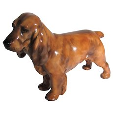 Royal Doulton Cocker Spaniel 1188 Golden Brown Gloss