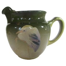 Weller Eocean Blue Heron Pitcher 1898 -1910