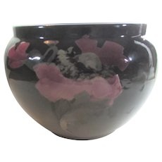Weller Etna Large Jardiniere In Floral Design