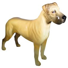 "Beswick Great Dane Figurine ""Ruler of Oubourgh"" 1941 - 1994"