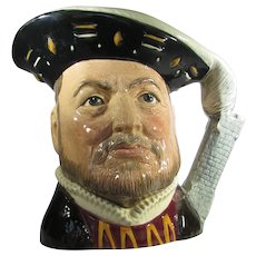 Royal Doulton Henry VIII D6642 Large Character Jug