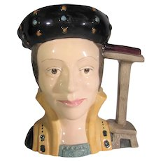 Royal Doulton Catherine Parr D6664 Large Character Jug Signed by Michael Doulton