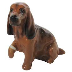 Royal Doulton Cocker Spaniel Porcelain Figurine K9  Puppy Paw Boo Boo