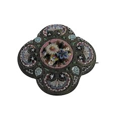 Fabbrica Angelo Pessar Micro Mosaic @1870-1900