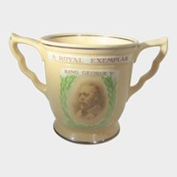 "King George V Royal Doulton ""The Exemplar Loving Cup"""