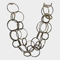 Goldtone Loop Necklace by Chico